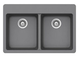 Equal Double Bowl Granite Composite Sink